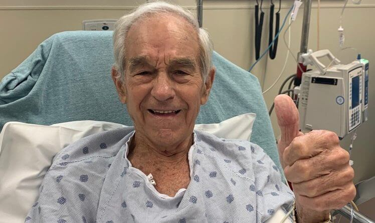 Ron Paul Recovering After Medical Emergency