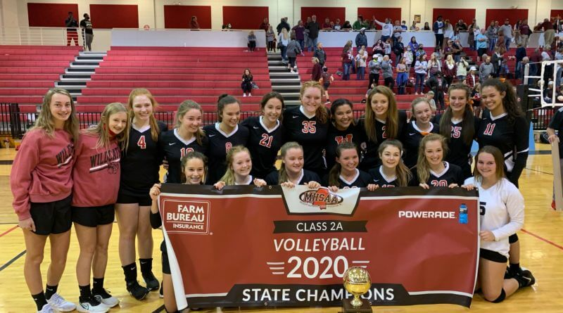 Walnut wins 5-set thriller to claim 2A volleyball state title
